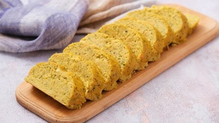 Vegetarian loaf: it's a family favorite dinner party recipe!
