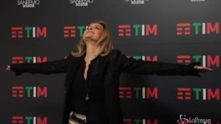 """Sanremo, Grandi: """"Vasco mi ha detto che sono una bomba"""""""