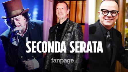 Sanremo 2020, la scaletta e tutti gli ospiti della seconda serata del Festival