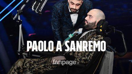 """Paolo Palumbo, il cantante malato di Sla a Sanremo: """"Per volare mi bastano gli occhi"""""""