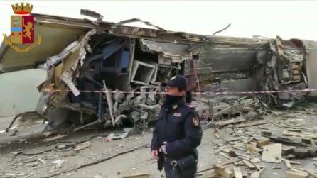 Treno Frecciarossa deragliato a Lodi, il luogo dell'incidente ferroviario