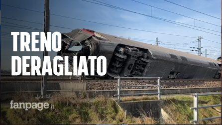 """Treno deragliato, i primi soccorritori arrivati sul posto: """"Era buio, una scena impressionante"""""""