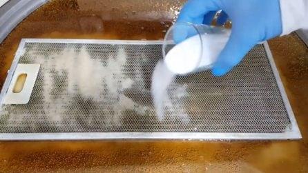 Come pulire il filtro della cappa