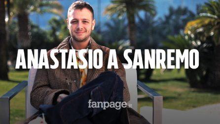 """Anastasio a Sanremo: """"Mi danno favorito? Alla fine non vinco"""""""