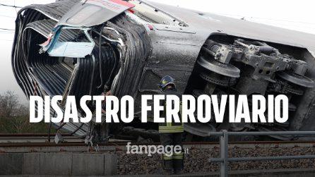 """Incidente Frecciarossa Lodi, procura: """"Se scambio fosse stato dritto treno non sarebbe deragliato"""""""