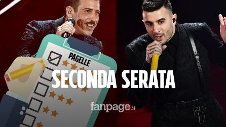 Sanremo 2020, le pagelle della seconda serata: Gabbani elegante, Junior Cally bella sorpresa
