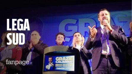 Matteo Salvini:«I calabresi hanno punito il Pd, ma qui ereditiamo un disastro»