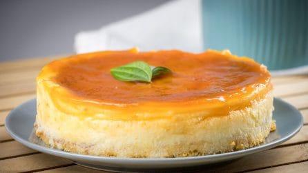 Souffle cheesecake: the recipe to make a creamy dessert in no-time!