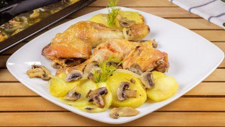 Cosce di pollo al forno: il segreto per farle croccanti fuori e sugose e tenere dentro