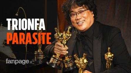 """Oscar 2020, trionfa """"Parasite"""" ed entra nella storia: ecco tutti i vincitori"""