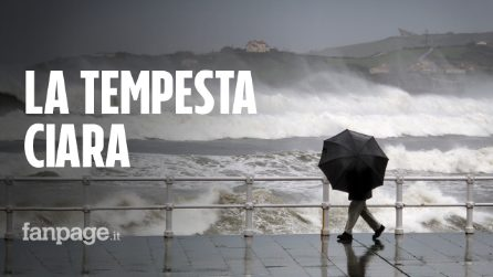La tempesta Ciara paralizza l'Europa: voli e treni cancellati. La burrasca in arrivo in Italia