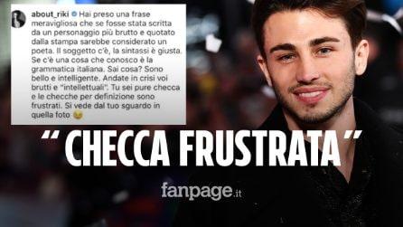 """Bufera su Riki, insulti omofobi a Davide Misiano: """"Io bello e intelligente, tu una checca frustrata"""""""