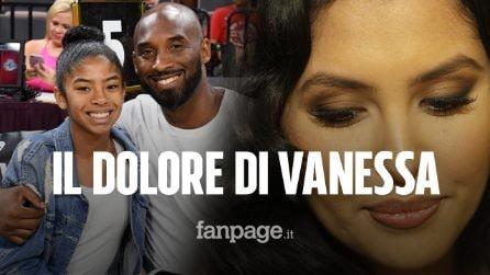 """Vanessa Bryant: """"Sto provando ad accettare la morte di Kobe, non riesco con Gigi"""""""