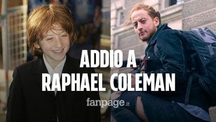 Morto Raphael Coleman, giovane star di Tata Matilda: aveva solo 25 anni