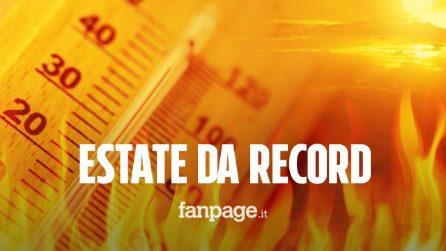 """Estate, temperature da record: """"La più calda degli ultimi 100 anni"""""""