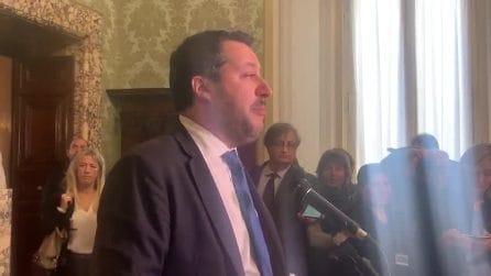 """Salvini: """"Sono stufo di essere calunniato, voglio andare in Tribunale"""""""