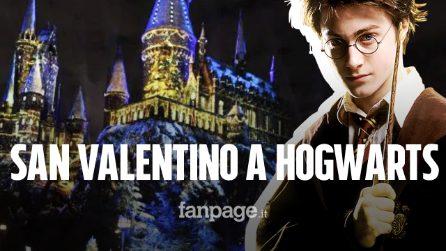 San Valentino 2020 a Hogwarts con Harry Potter? Si può. Ecco dove e quanto costa la magica cena