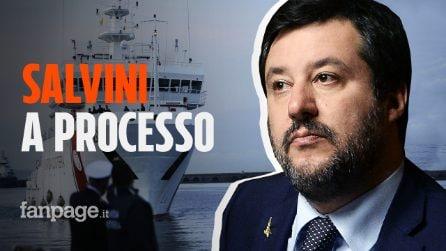 """Gregoretti, il Senato manda Matteo Salvini a processo: """"Vado in tribunale con orgoglio"""""""