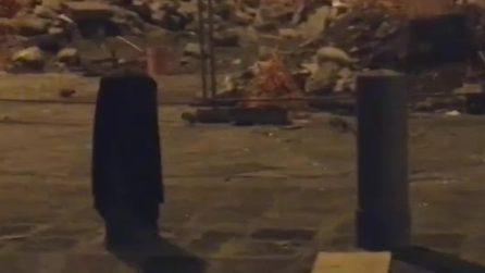 Piazza Mercato, colonie di ratti tra i cantieri dei lavori in corso