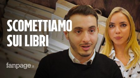 """Anna e Andrea, fidanzati e innamorati di Napoli: """"Qui la nostra libreria, aiuteremo anche Nisida"""""""