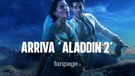 Aladdin 2, confermato il sequel del famoso cartone animato Disney