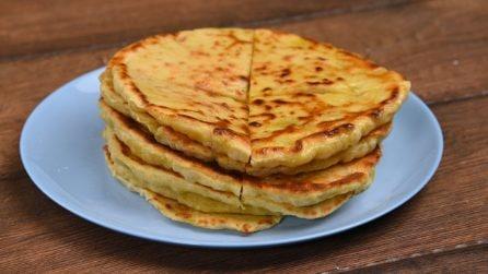 Pane alle patate in padella: croccante e saporito come non l'avete mai provato prima!