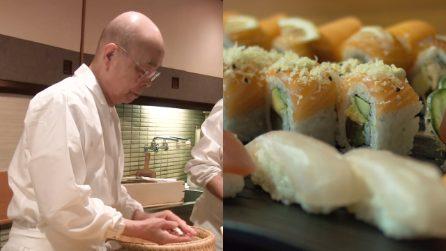 Jiro Ono, lo chef che a 94 anni prepara il sushi più buono al mondo sotto una stazione metropolitana
