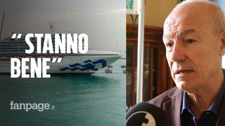 """Coronavirus, a bordo cinque italiani di Pozzallo: """"Stanno bene, vogliono solo tornare a casa"""""""