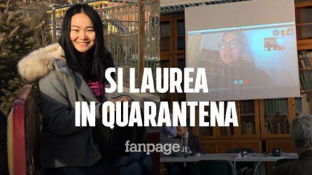 Coronavirus, la studentessa in quarantena che discute la tesi di dottorato da Wuhan via Skype