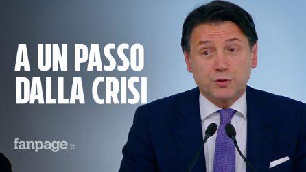 """Governo a un passo dalla crisi. Conte: """"Se Renzi sfiducia Bonafede trarrò le conseguenze"""""""