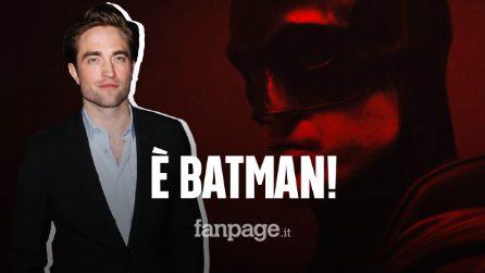 Robert Pattinson è Batman: ecco le prime immagini dell'attore in costume