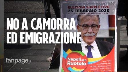 """Elezioni Suppletive, Ruotolo (centro sinistra): """"Le emergenze sono camorra e emigrazione"""""""