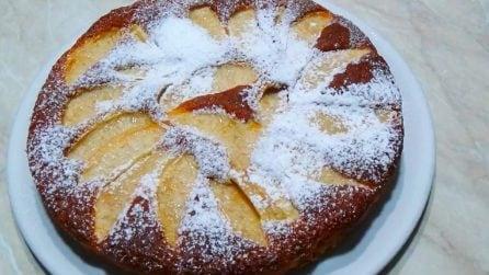 Torta di mele e yogurt: la ricetta del dessert veloce e golosissimo