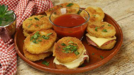 Cordon bleu di patate: filanti, saporiti e sfiziosi!