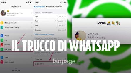 Il trucco per scoprire quanti messaggi hai mandato su WhatsApp