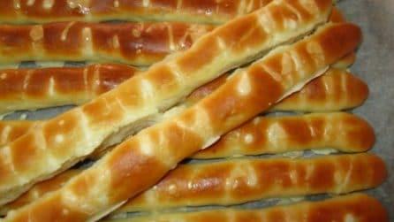 Baguette sottili e gustose: la ricetta per prepararle in casa