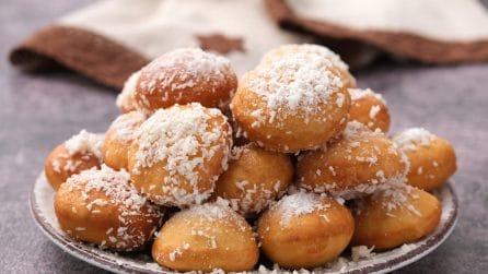 Palloncini al cocco: il dolcetto fritto a cui non saprete resistere!