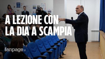 """Il Direttore della Dia, Giuseppe Governale, in visita alla scuola di Scampia: """"Dobbiamo credere nei giovani"""""""