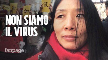 """Torino, cittadini cinesi in piazza: """"Episodi di razzismo e affari a picco grazie al Coronavirus"""""""