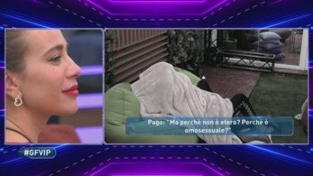 """Grande Fratello Vip, le parole di Pago su Licia Nunez: """"È omosessuale"""""""