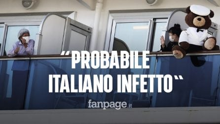 Diamond Princess, probabile italiano contagiato da Coronavirus sulla nave da crociera in quarantena