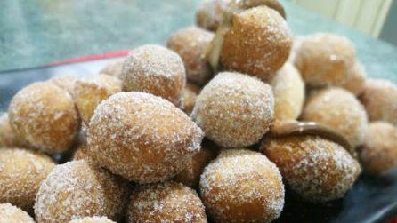 Castagnole, la ricetta per averle soffici e gustose