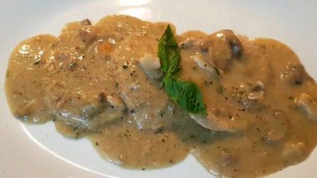 Scaloppine ai funghi: la ricetta del secondo piatto squisito