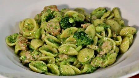 Orecchiette con broccoli e salsiccia: la ricetta del primo piatto saporito