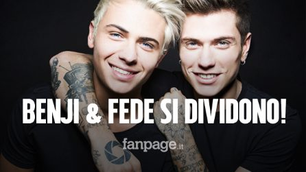 """Benji & Fede si sciolgono, l'ultimo concerto all'Arena di Verona: """"Non è stata una scelta facile"""""""