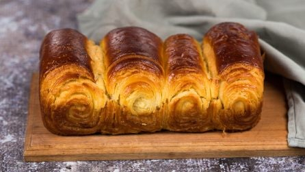 Croissant loaf: light, buttery, super soft, and extra flaky!