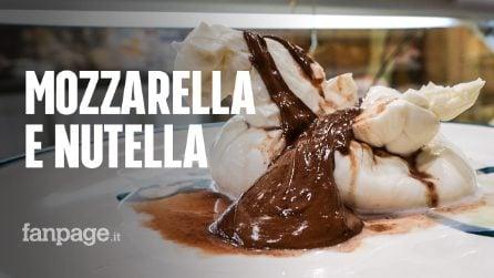 """Mozzarella ripiena di Nutella, ecco com'è realizzata dal caseificio di Salerno: """"Provatela, è fantastica"""""""