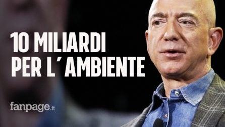 Jeff Bezos, patron di Amazon, donerà 10 miliardi di dollari per combattere il riscaldamento globale