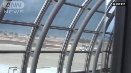 L'inedito video dello tsunami del 2011 in Giappone, la potente scossa dura quasi 3 minuti