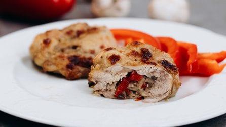 Tasche di pollo ripiene: il secondo piatto saporito e facile da preparare!